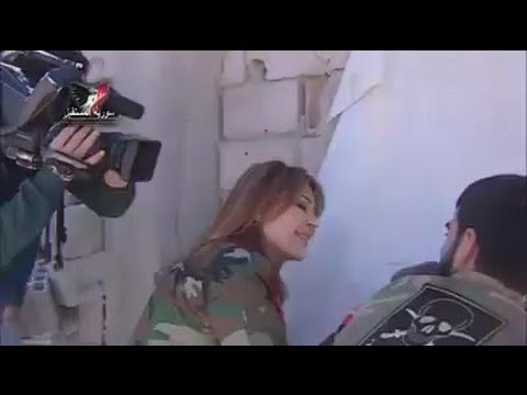Syrian Camera Man is Shot in the Back during Tv Show Recording