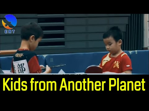 AMAZING TABLE TENNIS MATCH: 1st Grade Kids Champion