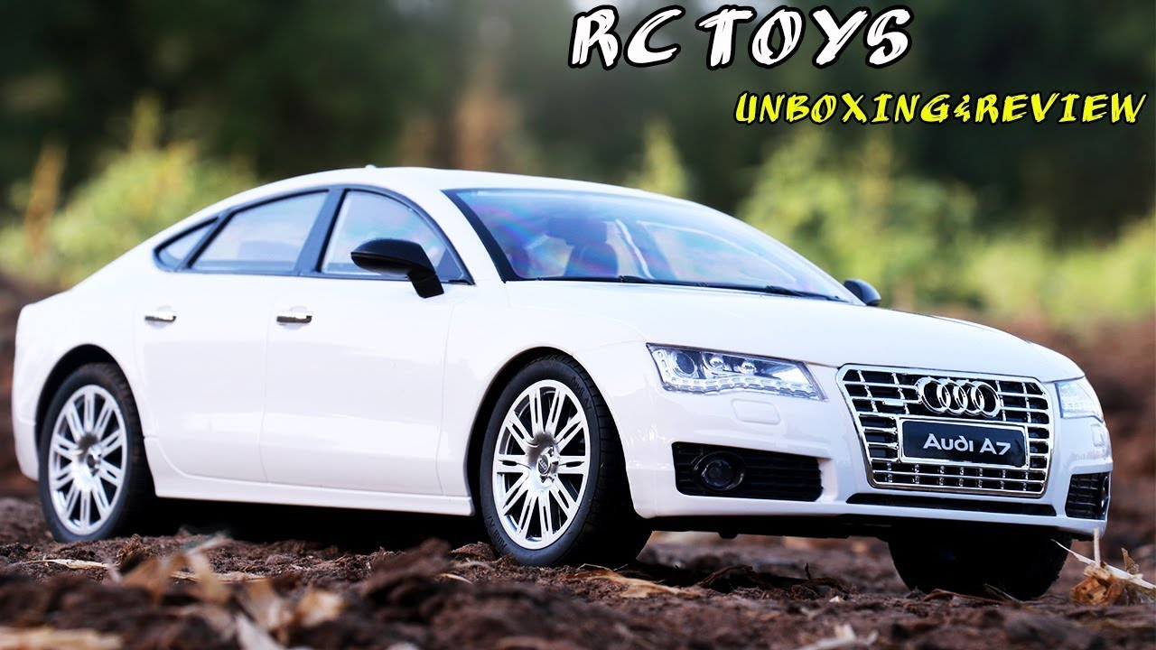AUDI A8 RCCARS UNBOXING & REVIEW | TOYS CARS REMOTE CONTROL | VIDEO FOR  KIDS| RC SPORTS CARS | audi a7 toy car