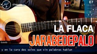"""Cómo tocar """"La Flaca"""" de Jarabe De Palo en Guitarra Acústica (HD) Tutorial - Christianvib"""