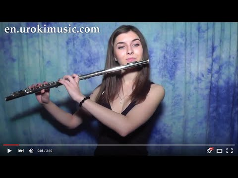 Taylor Swift - Blank Space - How To Play flute Cover Sheet Music Fingering