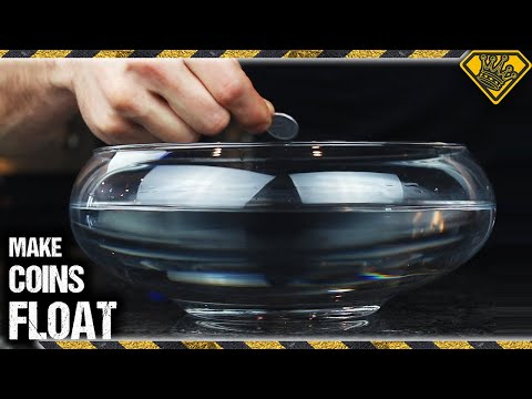 How To Make 1 Yen Coins Float On Water