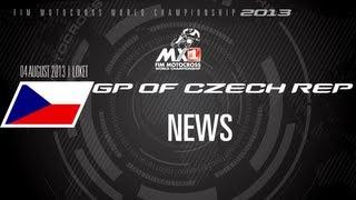 MXGP of Czech Republic 2013 - NEWS - Motocross
