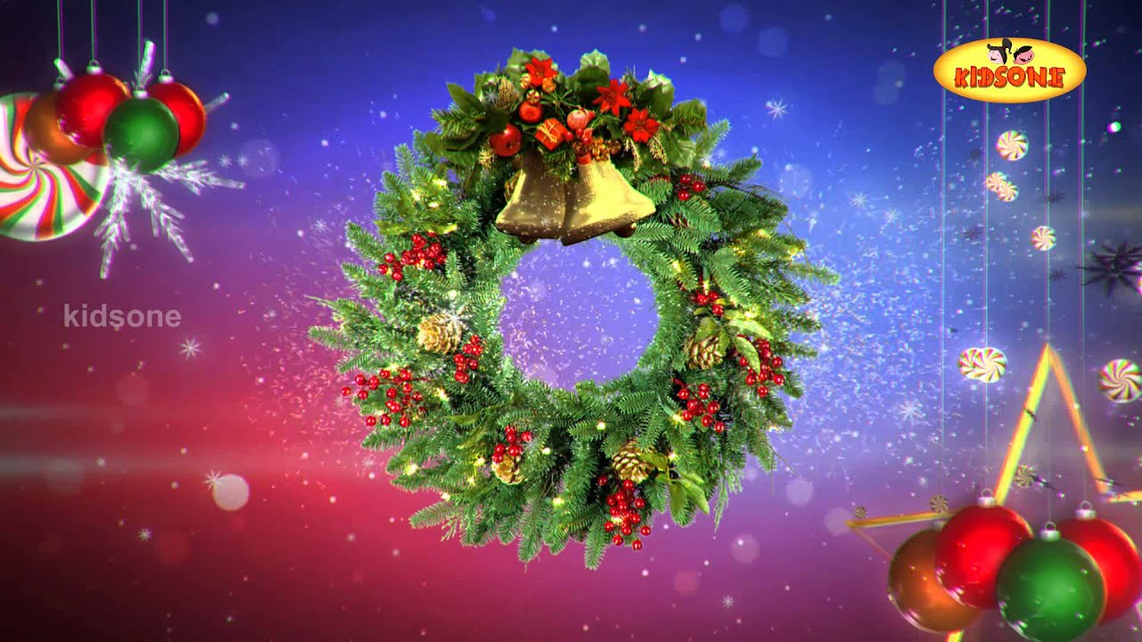 Happy merry christmas animated christmas greetings kidsone youtube m4hsunfo