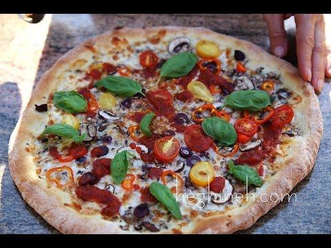 Պիցցա - Homemade Pizza Recipe - Heghineh Cooking Show In Armenian