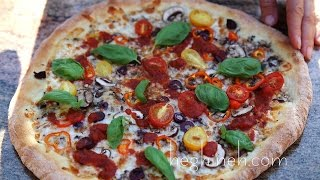 Պիցցա - Homemade Pizza Recipe - Heghineh Cooking Show