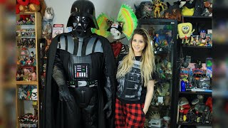 Building A Life Sized Darth Vader Replica For 100 Youtube