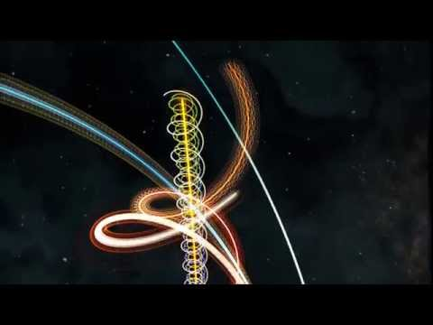 Solar System in Motion: A Helical Visualization of Time