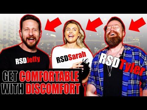 GET COMFORTABLE WITH DISCOMFORT   RSD Tyler, Jeffy, & Sarah's Healthly Relationship Tips)