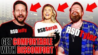 GET COMFORTABLE WITH DISCOMFORT | RSD Tyler, Jeffy, & Sarah's Healthly Relationship Tips)