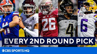 2021 NFL Draft: Player Profiles For EVERY 2nd Round Pick | CBS Sports HQ