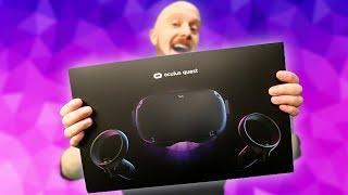Oculus Quest Setup, Unboxing & Tips