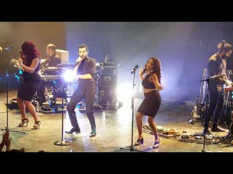 MARCO MENGONI, PARIGI,Le Trianon - intro ONE DANCE e ONDE