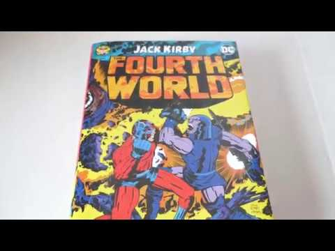 Jack Kirby Fourth World Omnibus Book Review DC comics
