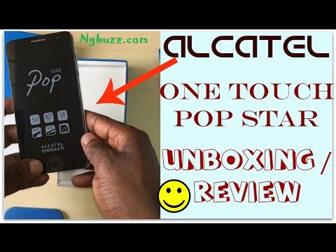 Alcatel OneTouch Pop Star Unboxing, Review and Price