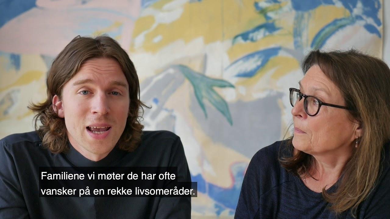 Bernadette Christensen og Audun Formo Hay 1