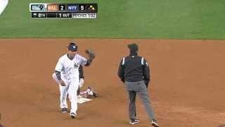 MLB 洋基出現大聯盟第一次4-6-5-6-5-3-4 的三殺