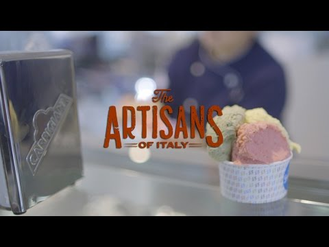 The Gelato Maker | The Artisans of Italy