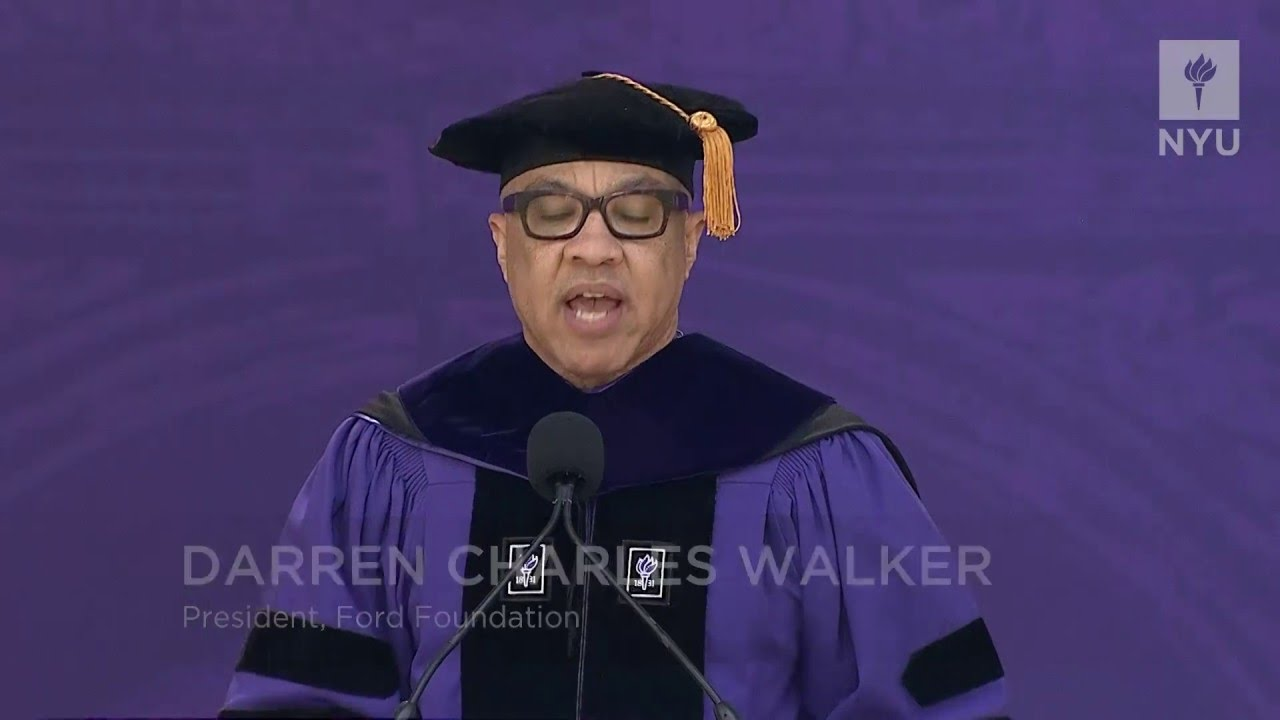 Watch Every NYU Commencement Speech From the Past Decade