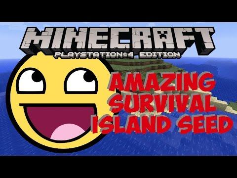 Minecraft Console - Amazing Survival Island Seed TU39