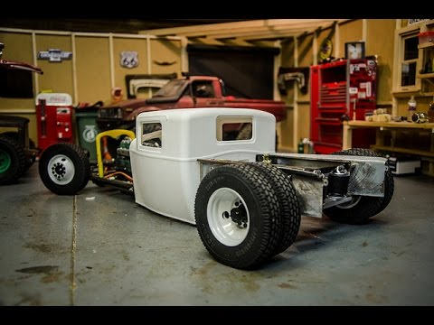 Custom Rc Rat Rod Build 2 Scale Rear Suspension With