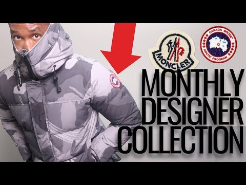 MONTHLY DESIGNER DESIGNER COLLECTION | MONCLER + CANADA GOOSE