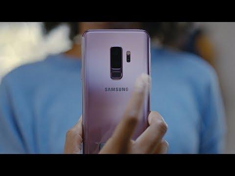 Samsung presenta i nuovi Galaxy S9   S9+