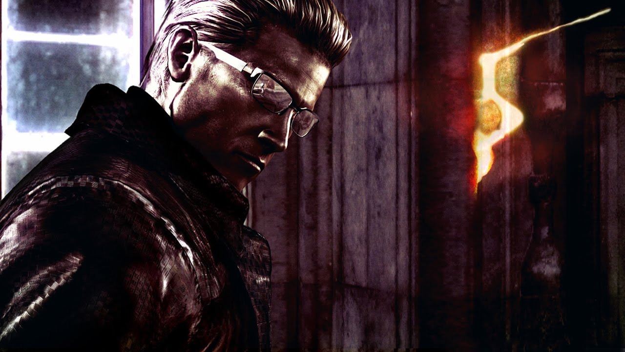 Resident Evil 5 Wesker Ah There You Are Youtube
