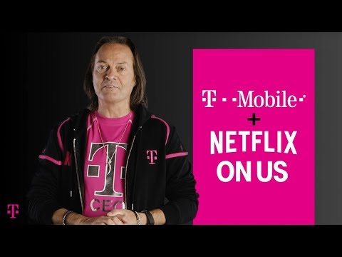 T-Mobile Now Includes Netflix On Us - #UncarrierNEXT | T-Mobile
