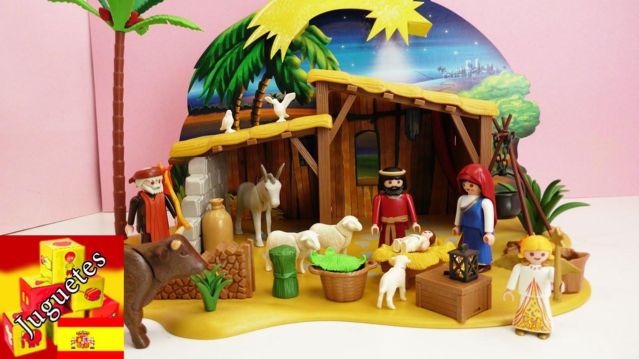 Armemos el pesebre de navidad de playmobil youtube - Nacimiento para navidad ...
