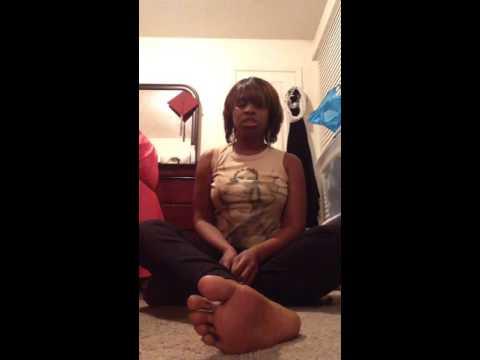 Funky Ebony feet