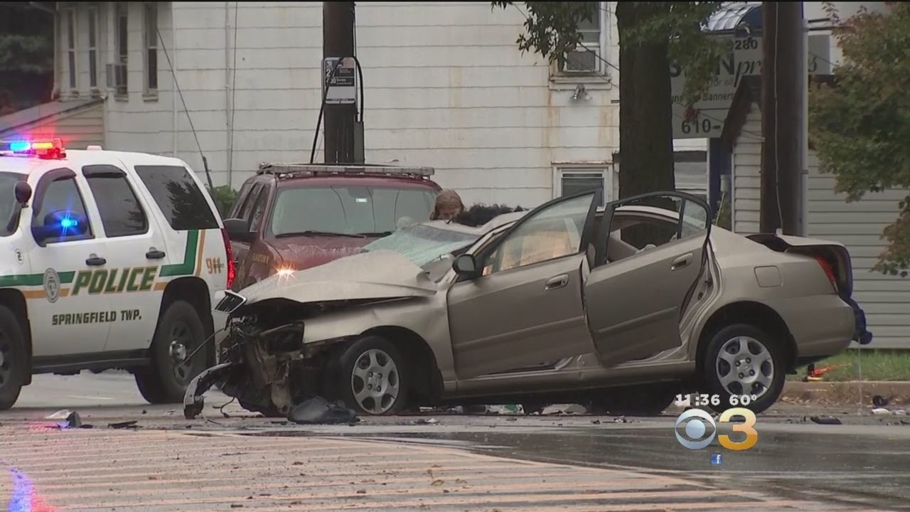 Police Investigate Multi-Vehicle Accident In Montgomery County
