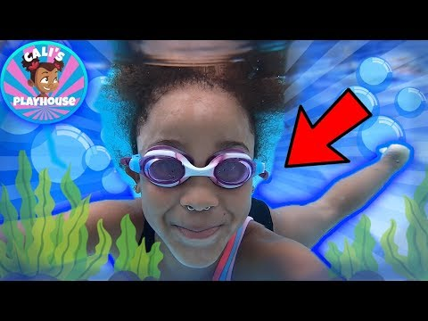 Learn to Swim with Cali | Cali's Playhouse