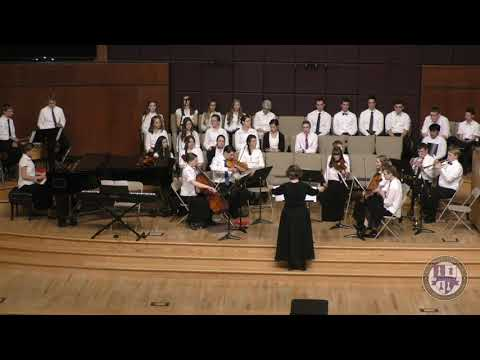 The Colorado Heritage Education School System High School ensemble, Doxophonia, fall 2019 concert.