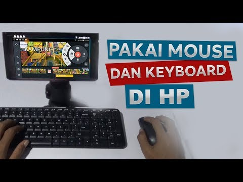 Cara Menggunakan Mouse Dan Keyboard Di Android Youtube