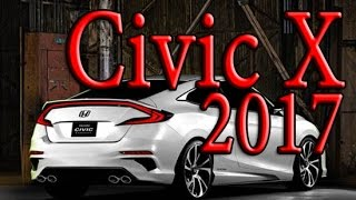 Обзор Honda Civic 10 X 2016 - 2017 4D Разгон, Характеристики(Обзор нового Honda Civic 10 поколения или Honda Civic X 2016 - 2017 года выпуска. В обзоре рассказано о новых двигателях,..., 2016-06-19T19:07:09.000Z)