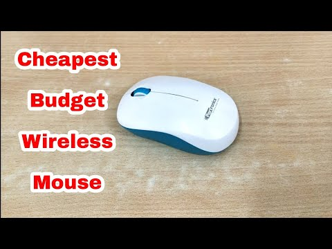 Portronics Toad 12 Wireless Mouse Unboxing & Review   Cheapest Budget Wireless Mouse