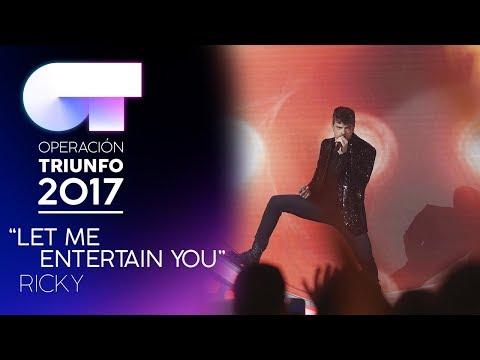LET ME ENTERTAIN YOU - Ricky | Gala 6 | OT 2017