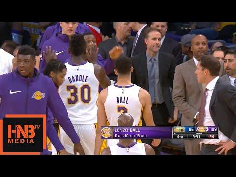 Lonzo Ball Gets A Triple-Double / LA Lakers vs Nuggets