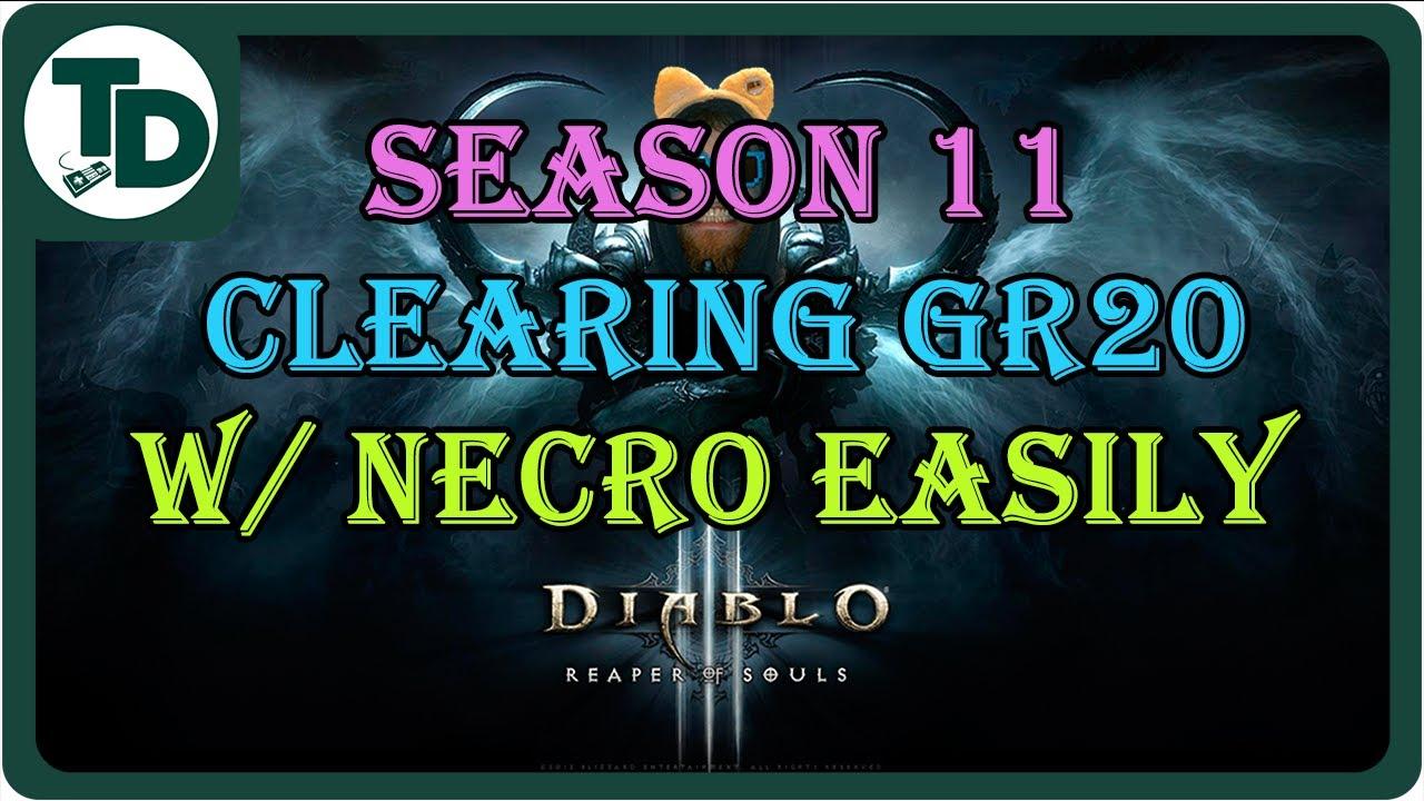 How to get 6 piece Haedrig's Gift Necromancer Season 11 Diablo 3 ...