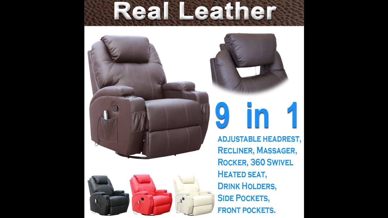 Gentil More4home Recliner Chair   YouTube