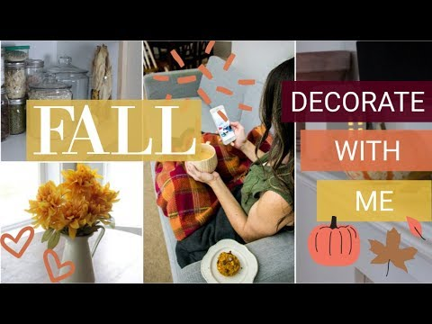 Fall Decorate With Me 2018 | BUDGET FALL DECOR IDEAS