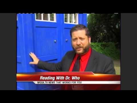 TARDIS Library Lands in Macon