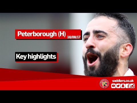 MATCH HIGHLIGHTS | Walsall 1-1 Peterborough United | Sky Bet League One