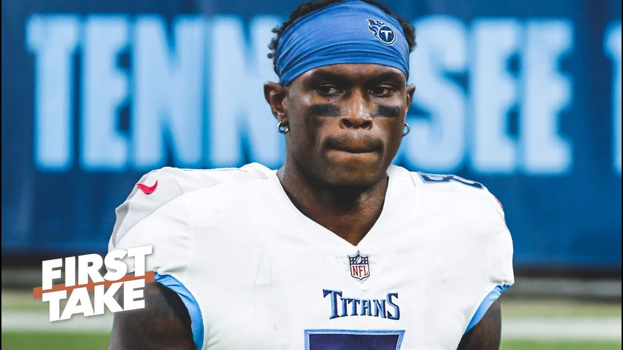 Does Julio Jones make the Titans the biggest threat to the Chiefs in the AFC? | First Take