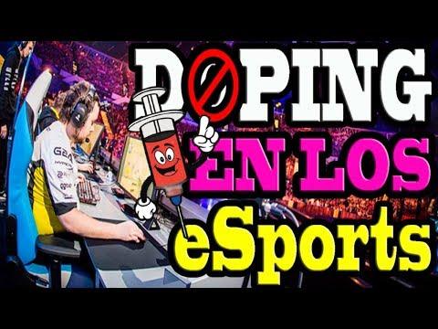 DOPING EN LOS eSports (LIGA DE VIDEOJUEGOS PROFESIONAL) - CRITICA DURA