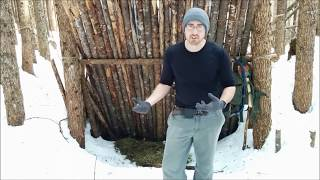 Bushcraft Camp in Winter | A Last Look