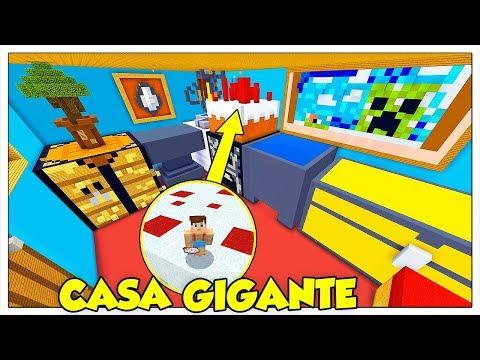 SFIDA DI SOPRAVVIVENZA NELLA CASA GIGANTE! - Minecraft ITA