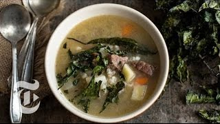 Melissa Clark's Brisket Barley Soup Recipe | The New York Times