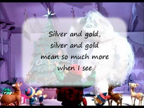 Rudolph's Silver and Gold with lyrics